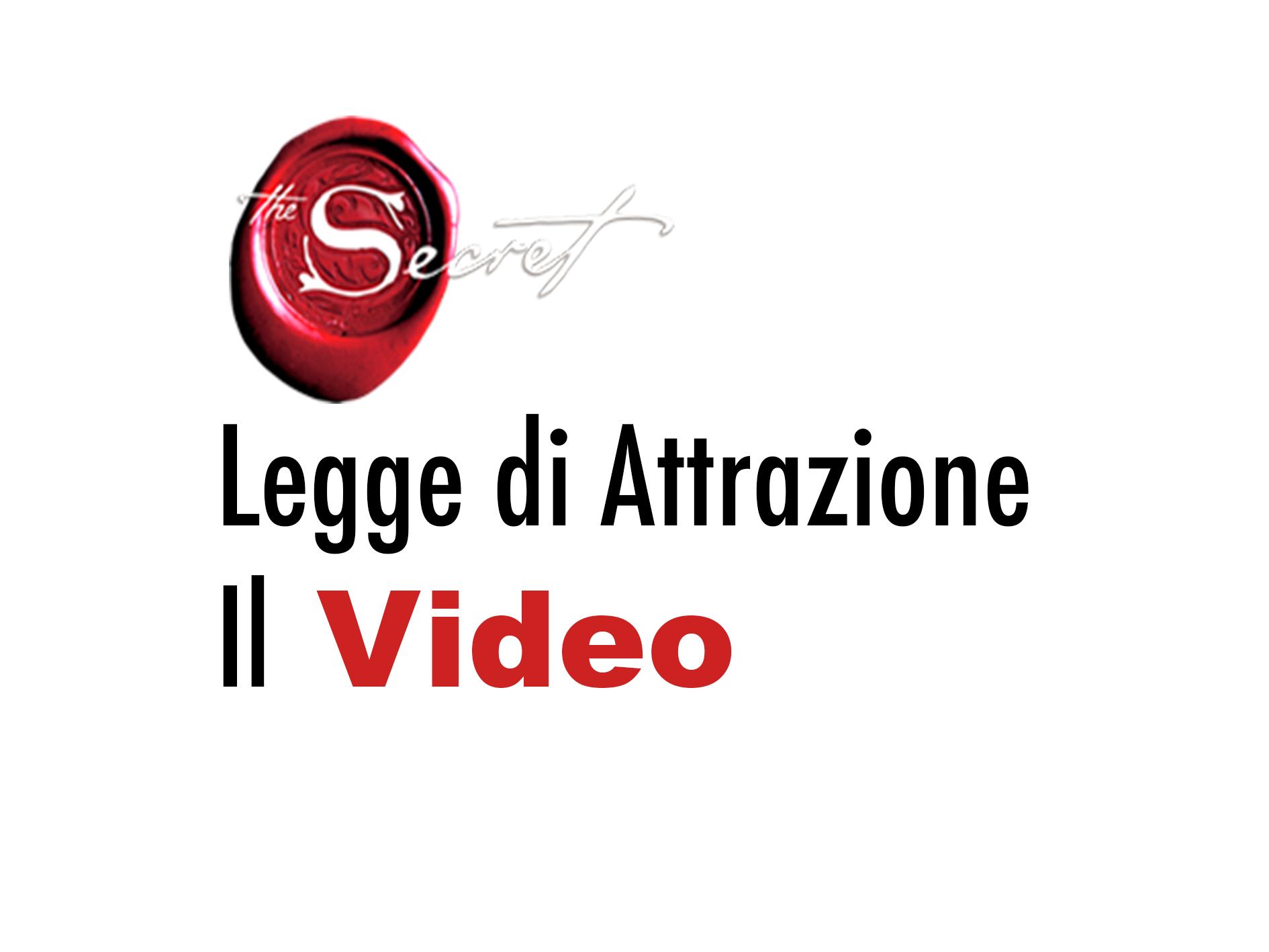 film in italiano sulla legge di attrazione